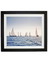 "Lightweight 40"" x 30"" Sailboat Print"