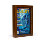 8.5 x 11 pine wood magazine cover frame