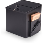 Black Suggestion Box with Locking Lid