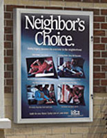 Outdoor Sign Holders Waterproof Poster Frames