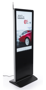 "43"" Digital Advertising Floor Stand Display for Directories"