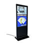 "Indoor 55"" advertising multimedia kiosk"