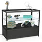"LED Retail Store Counter, 46.5"" Shelf Width"
