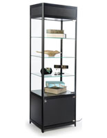 "LED Retail Display Tower, 18"" Overall Depth"