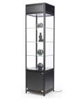 "LED Display Case Tower, 56"" Overall Height"