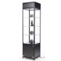 LED Display Case Tower with 3 Shelves
