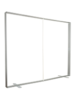 10ft wide by 8ft tall silcone edge graphic frame with center support bar