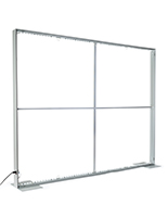 8x10 SEG backlit backdrop frame with LED lights and carry case