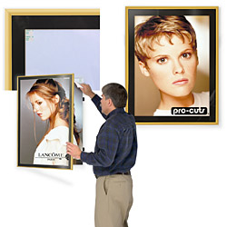 gold poster displays