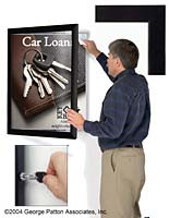Locking Poster Picture Frame