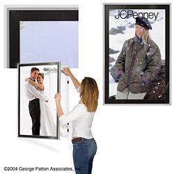 24 X 36 Poster Frames Feature A Matboard Enclosed Design