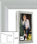 Silver Wall Picture Frame