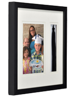 Shadow boxes are perfect for displaying special moments and memorabilia from important events