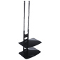2-Tier Wall Mounted Component Shelf for DVD Players