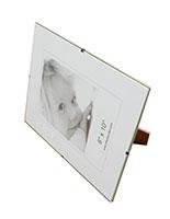 Glass Clip Photo Frames Frameless Picture Holders