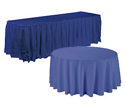 Banquet Table Covers and Overlays