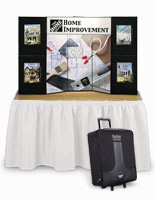 This show exhibit is commonly used at trade shows and large events.