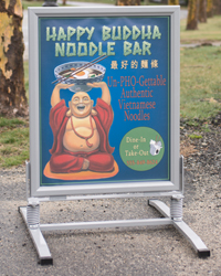 T-Base Sidewalk Signs
