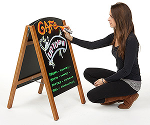 write-on boards use wet erase markers