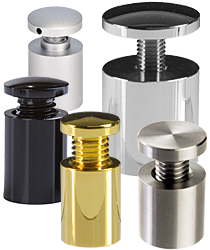 Sign Standoffs Stylish Mounting Hardware For Professionals
