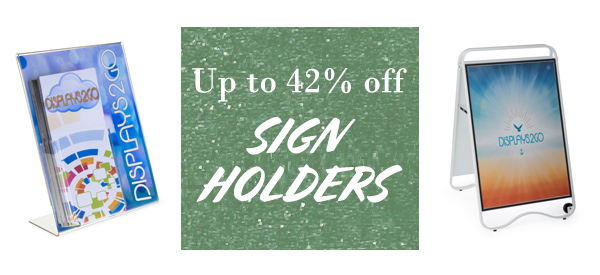 all styles of signage on sale