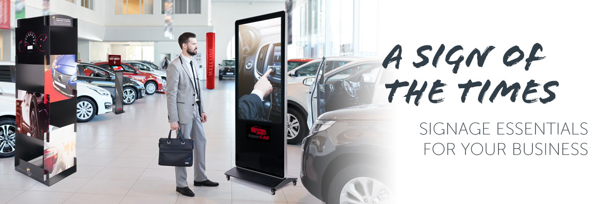 Promote Your Business with Signage Display Solutions