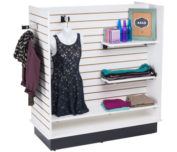 Slatwall Merchandising Displays