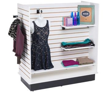 Slatwall Merchandising Displays