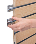 slatwall channel inserts for increased weight capacity