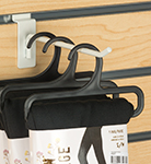 slatwall peg hook displays packaged products