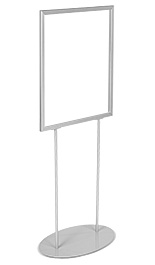 22x28 Gray Top-Loading Poster Stand