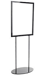 Black Metal Poster Stand for 22x28 Graphics