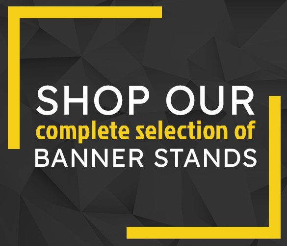Shop All Banner Stands
