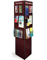 slatwall display kiosk