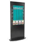 Slatwall Tower with Leaflet Holders for Stores or Lobbies