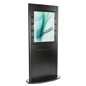 Slatwall Poster Kiosk with 7 Channels per Side
