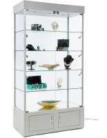 Silver Display Case