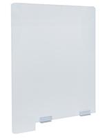 Lightweight splash guard divider panel weighs 7 pounds