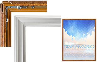 Snap Frames Front Loading Aluminum Poster Holders