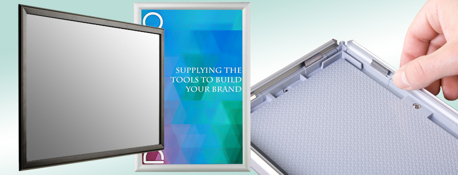 Snap Frames Fast Change Graphics Framing For Indoor Outdoor Signs