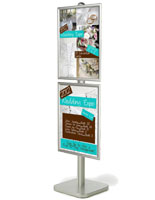 snap poster stand