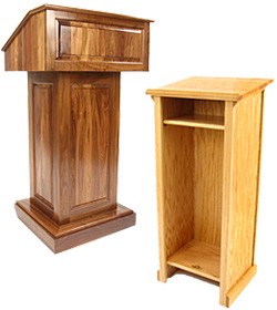 Solid Wood Podiums