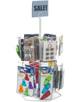 Countertop Spinner Rack for Retail Items