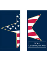 "30"" x 60"" Patriotic Street Light Decoration Banners"