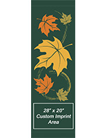 30 x 94 Custom Autumn Theme Municipal Flag Banner