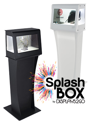 SplashBox LCD Display Stands