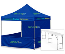 10 x 10 Pop-up Booth