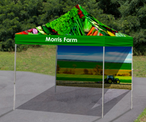 Custom Printed Tent & Vendor Display Tents | Pop Up Canopies for Fairs and Events