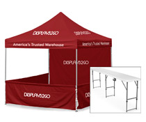 Red Outdoor Event Tent