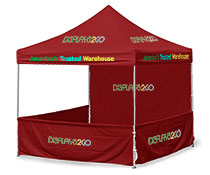10' x 10' Square Booths